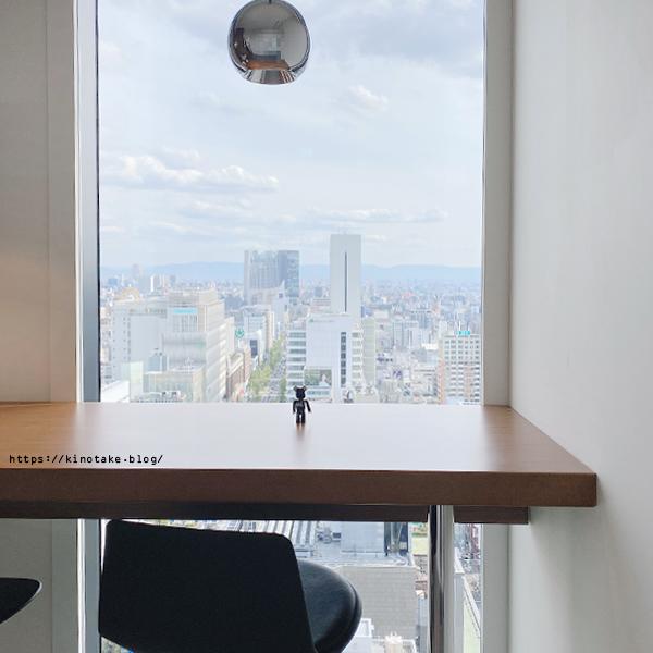 W大阪 客室内のカウンター