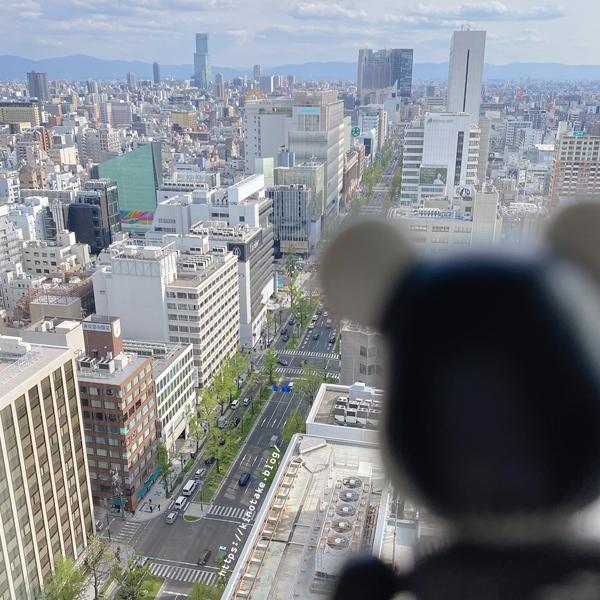 W大阪 お部屋からの眺め